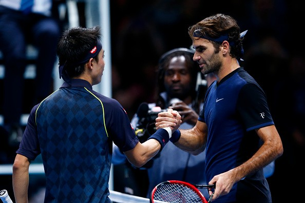 ATP World Tour Finals: Roger Federer stretched to three sets by Kei Nishikori, tops group