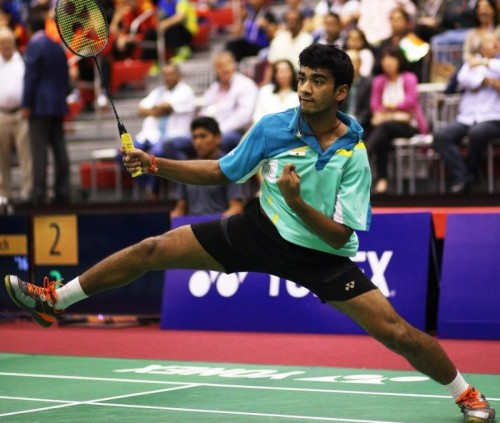 Siril Varma in action at the World Junior Championships