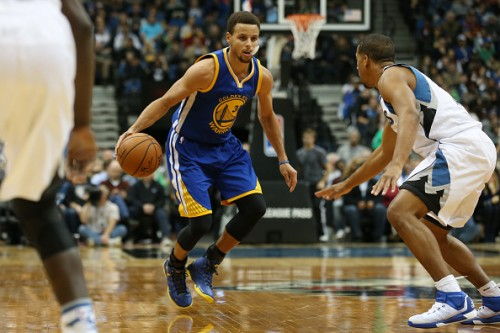 Steph Curry Golden State Warriors 2015