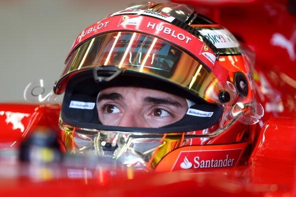Jules Bianchi Scuderia Ferrari 2014