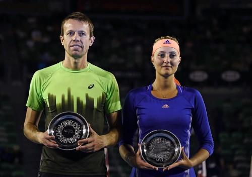 Daniel Nestor Kristina Mladenovic Australian Open