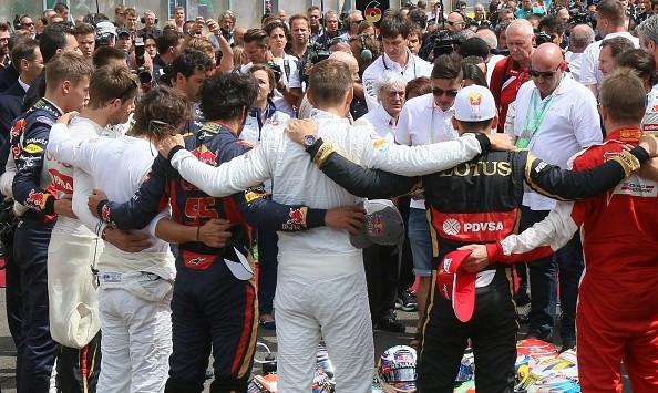 Jules Bianchi Tribute Monza