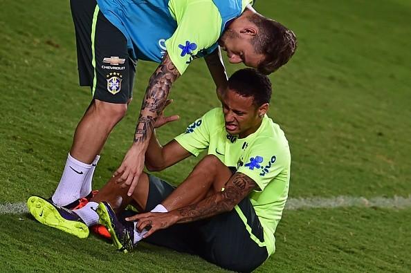 Barcelona Star Neymar Injured Himself In Training Trying To Perform