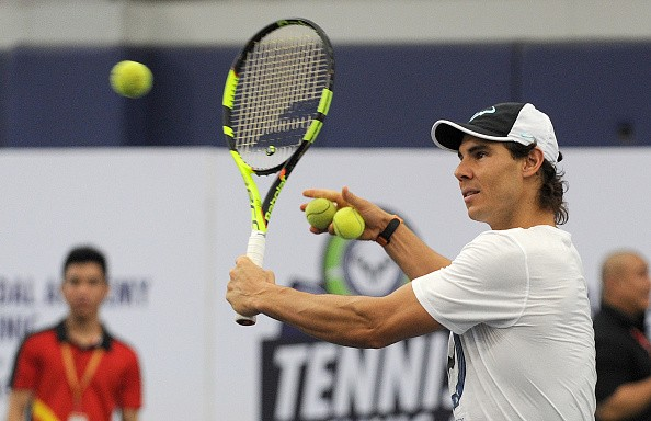 Rafael Nadal Indian Aces 2015 IPTL