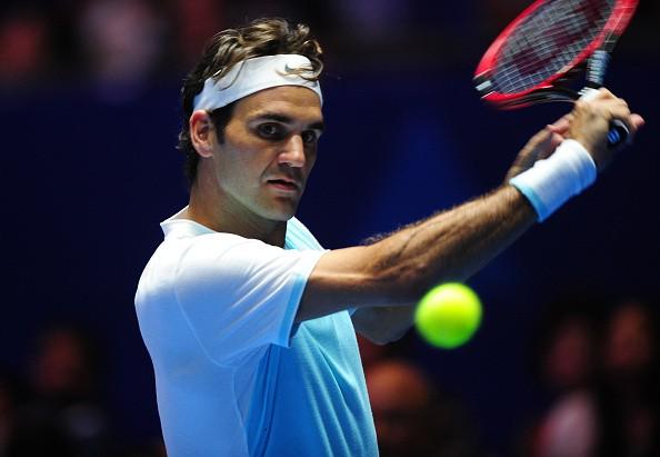 Roger Federer IPTL 2015 UAE Royals