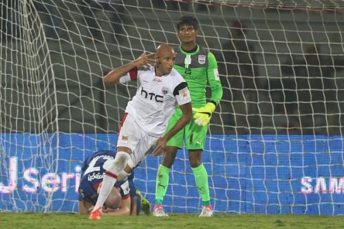 Diomansy Kamara goal NorthEast United ISL 2015