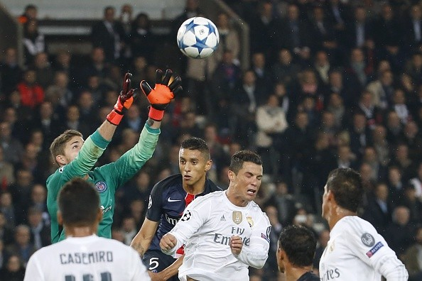 Kevin Trapp PSG UCL