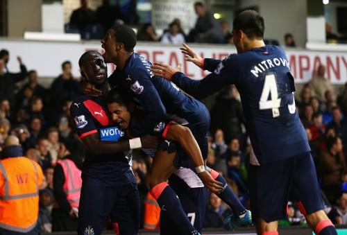 Newcastle goal Tottenham Ayoze Perez