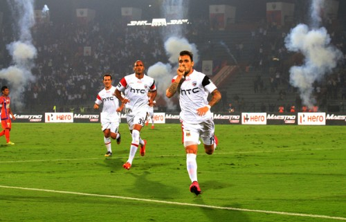 NorthEast United goal Pune City ISL 2015