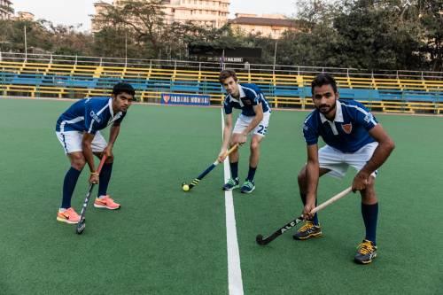 Florian Fuchs Tyron Pereira Gurjant Singh Hockey India League 2016 Dabang Mumbai