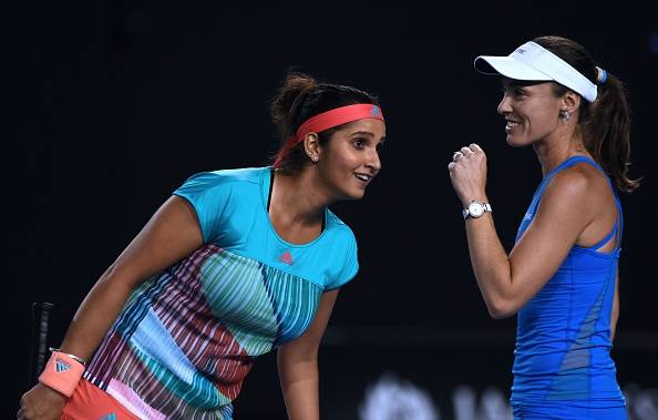 Mirza and Hingis in Australian Open finals with straight sets victory