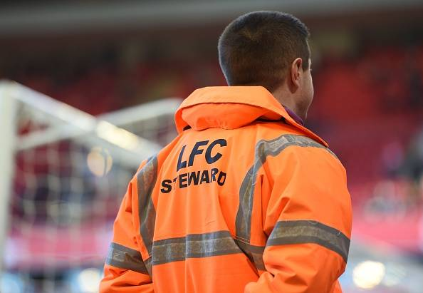 Image result for Liverpool anfield stewards