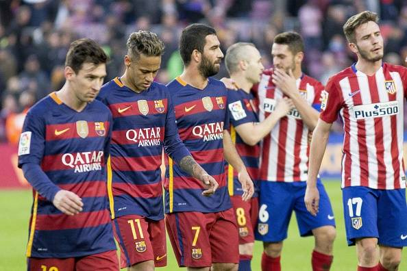 La Liga Soccer Standings Barcelona Sit Atop 3 Points Clear