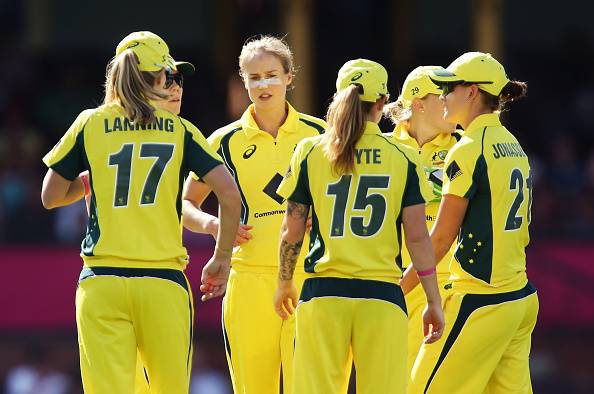 Ellyse Perry S All Round Performance Helps Australian Women
