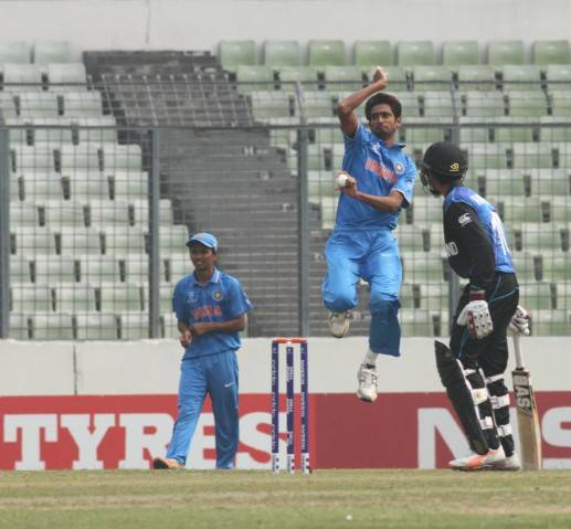 India Under 19 Qualify For The QF, Beat NZ Under 19 By 120