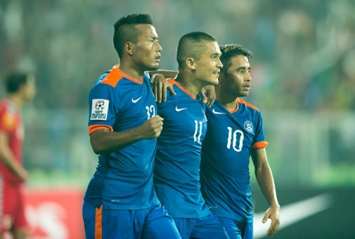 India Afghanistan Chhetri Jeje SAFF Cup 2015