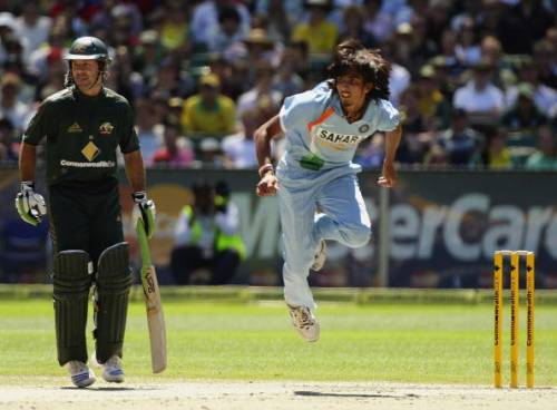 Ishant Sharma India Australia 2008 CB Series