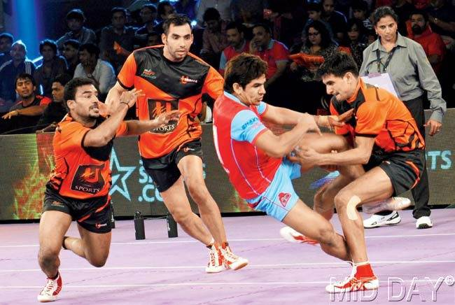 StarSports Pro Kabaddi: Jaipur Pink Panthers, Telugu Titans register wins on day 2