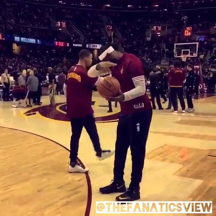 dabb dance. lebron james tapping into the dab dance in pre game warm-ups dabb