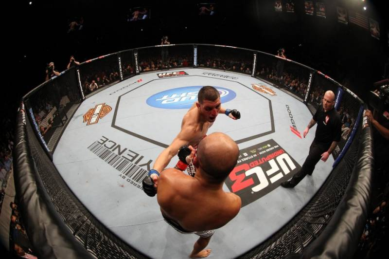 What is cage fighting and why is it considered so dangerous?