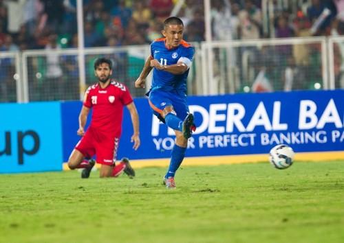 Sunil Chhetri India Afghanistan