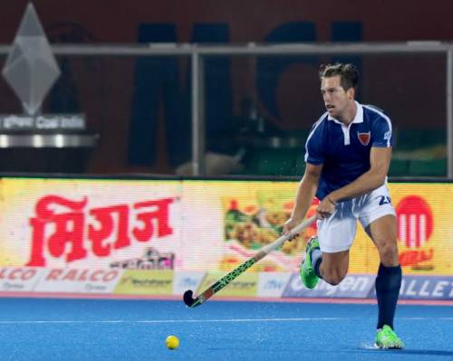 Dylan Wotherspoon Dabang Mumbai Hockey India League 2016