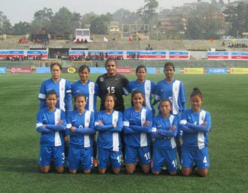 12th South Asian Games India vs Nepal women's football