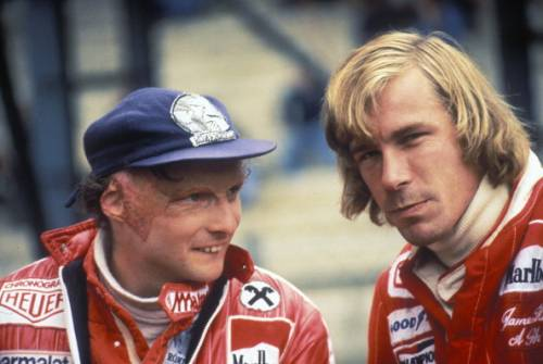 Niki Lauda James Hunt 1977 Zolder
