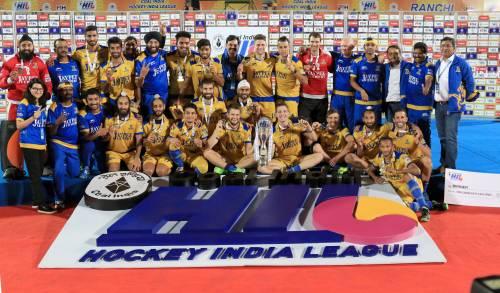 Jaypee Punjab Warriors HIL champions