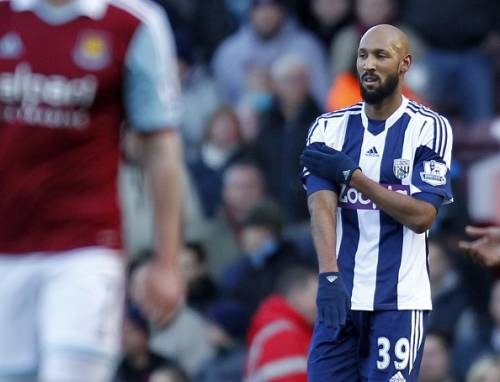Anelka West Brom Quenelle