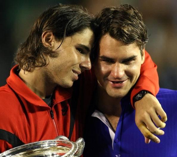 Rafael Nadal Roger Federer Australian Open 2015