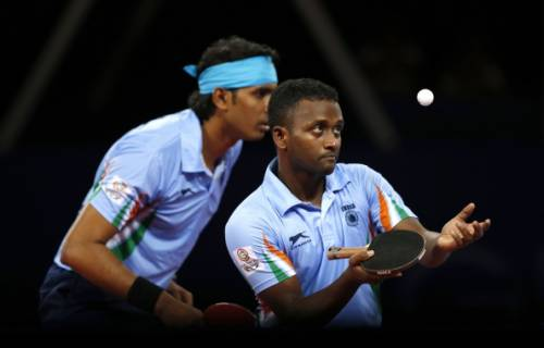 Anthony Amalraj Rio Olympics Asian Qualifiers Table Tennis