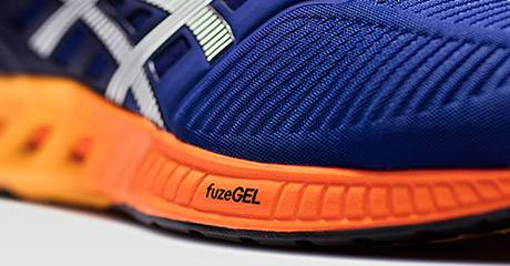 Asics's latest FuzeGEL cushioning system