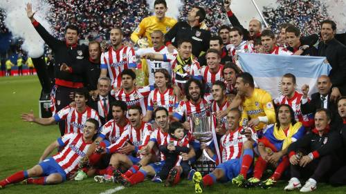 Atletico Madrid end the decade long dominance of Barcelona and Real Madrid