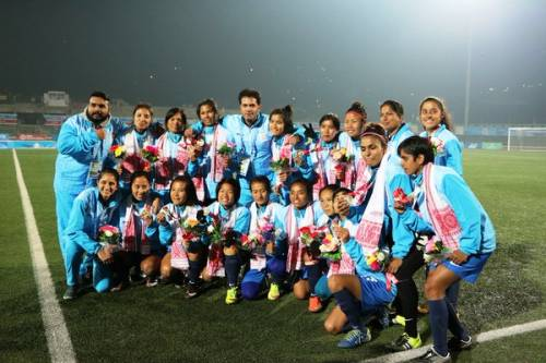 India women's football team 2016 south asian games