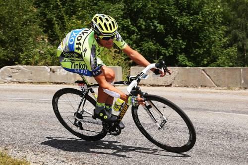 Contador during the 2015 Tour de France