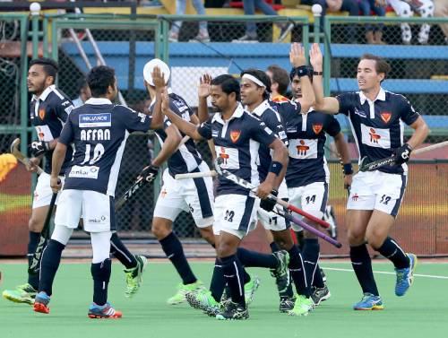 Dabang Mumbai Ranchi Rays Hockey India League HIL 2016