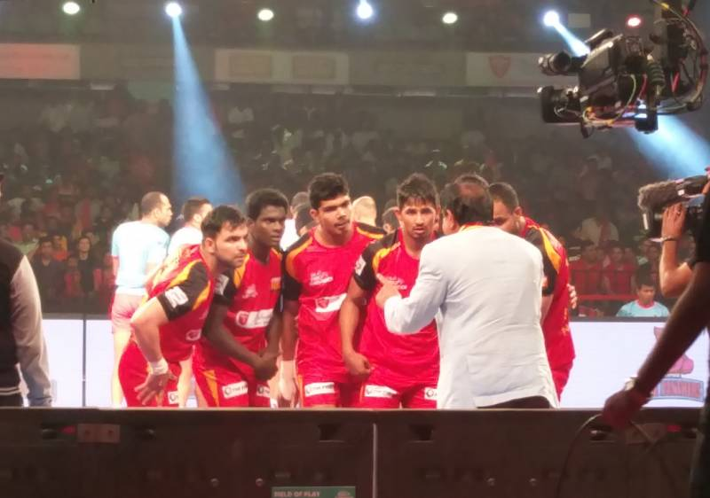 Bengaluru Bulls Pro Kabaddi Randhir Sinfgh