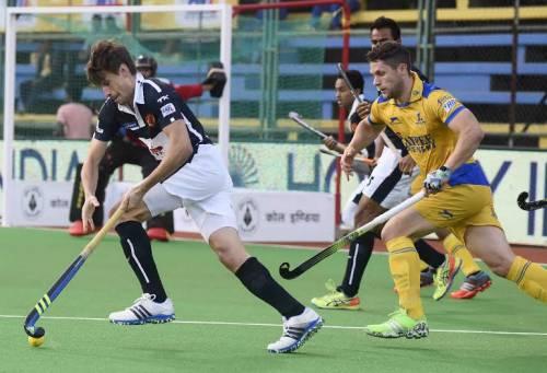 Florian Fuchs Dabang Mumbai Jaypee Punjab Warriors Hockey India League HIL