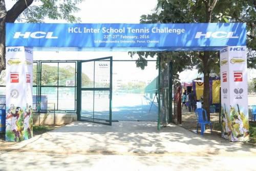 hcl inter school tennis