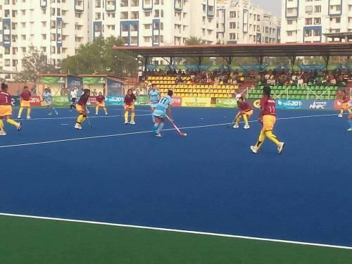 India Women's hockey South Asian games