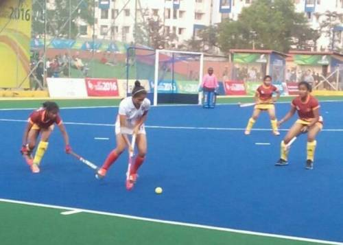India vs Sri Lanka Women's hockey 12th South Asian Games