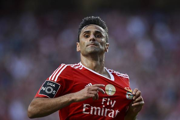 new products 74665 d9cec Benfica forward Jonas could make Brazil return