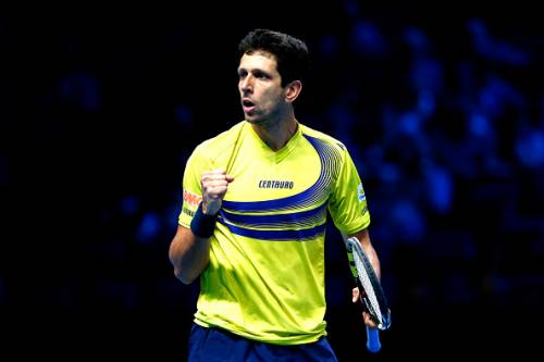 Marcelo Melo at the Barclays ATP World Tour Finals