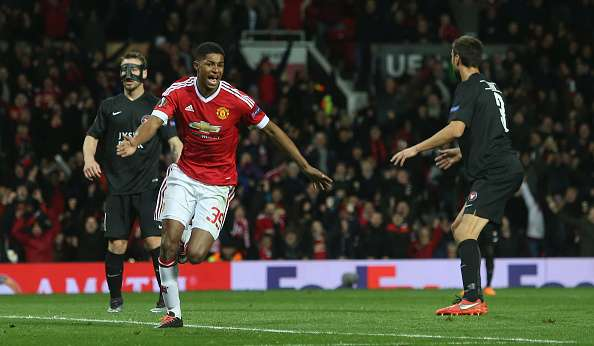 Marcus Rashford goals Manchester United Midtjylland highlights