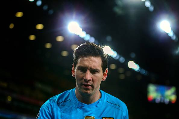 Messi did the damage for Barcelona
