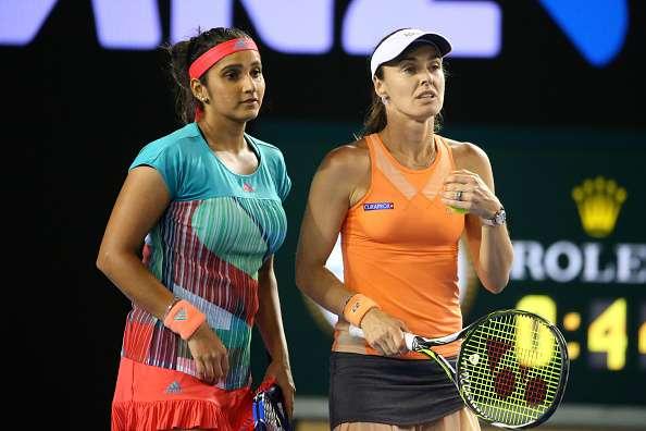 Sania Mirza Martna Hingis S Unbeaten Run Comes To End