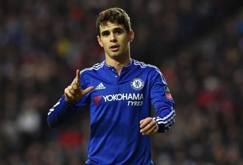 Oscar 75m bid Chinese Super League rejected Chelsea