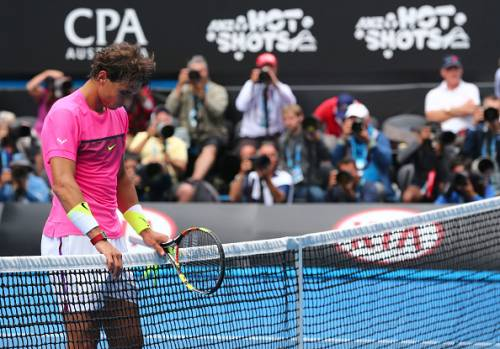Nadal lost out in the first round of the Australian Open