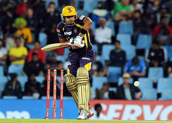 Rajat Bhatia during his time with the Kolkata Knight Riders